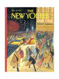The New Yorker Cover - November 16  1992