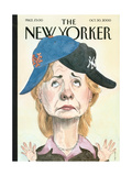 The New Yorker Cover - October 30  2000