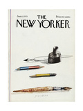 The New Yorker Cover - January 6  1975
