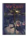 The New Yorker Cover - July 18  1953