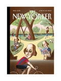 The New Yorker Cover - June 16  2003