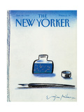 The New Yorker Cover - January 25  1988