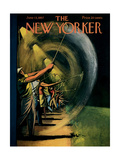 The New Yorker Cover - June 15  1957