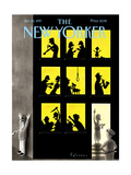 The New Yorker Cover - January 20  1997