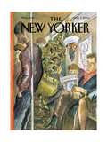 The New Yorker Cover - March 3  2003