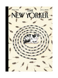 The New Yorker Cover - January 3  2005