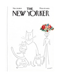 The New Yorker Cover - March 20  1954
