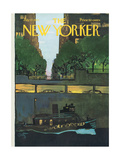 The New Yorker Cover - July 17  1971