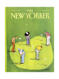 The New Yorker Cover - August 17  1987