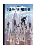 The New Yorker Cover - September 12, 1994 Giclee par Eric Drooker