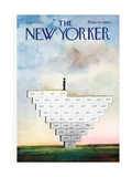The New Yorker Cover - July 22  1972