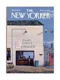 The New Yorker Cover - August 16  1969