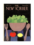 The New Yorker Cover - July 24, 1971 Giclee par Charles E. Martin