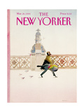 The New Yorker Cover - March 26  1984
