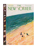 The New Yorker Cover - August 18  1956