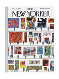 The New Yorker Cover - October 19  1957
