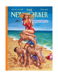 The New Yorker Cover - June 22  1998