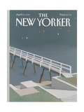 The New Yorker Cover - April 13  1987