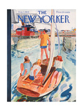 The New Yorker Cover - August 7  1954