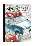 The New Yorker Cover - August 13  2001