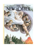 The New Yorker Cover - October 13  1997