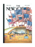 The New Yorker Cover - November 5  2001