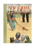 The New Yorker Cover - February 8  1936