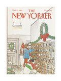 The New Yorker Cover - December 12  1983