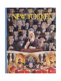 The New Yorker Cover - January 25  1993