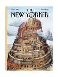 The New Yorker Cover - October 2  1995