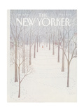 The New Yorker Cover - January 26  1981