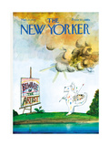 The New Yorker Cover - March 27  1971