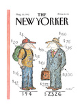 The New Yorker Cover - August 10  1992