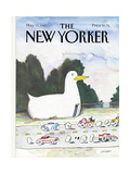 The New Yorker Cover - May 11  1987