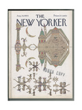The New Yorker Cover - August 29  1964