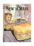 The New Yorker Cover - March 13  1995