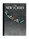 The New Yorker Cover - February 11  2002
