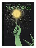 The New Yorker Cover - July 8  1996