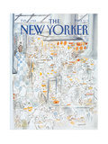 The New Yorker Cover - February 1  1988