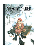 The New Yorker Cover - January 29  2001