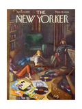 The New Yorker Cover - April 26  1958