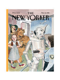 The New Yorker Cover - November 16  1998