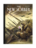The New Yorker Cover - February 10  2003