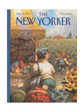 The New Yorker Cover - August 14  1995
