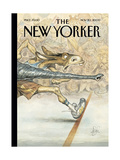 The New Yorker Cover - November 20  2000