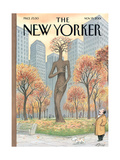 The New Yorker Cover - November 19  2001