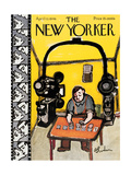 The New Yorker Cover - April 13  1946