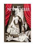 The New Yorker Cover - March 17  2003