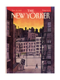 The New Yorker Cover - November 25  1985