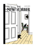 The New Yorker Cover - January 20  2003